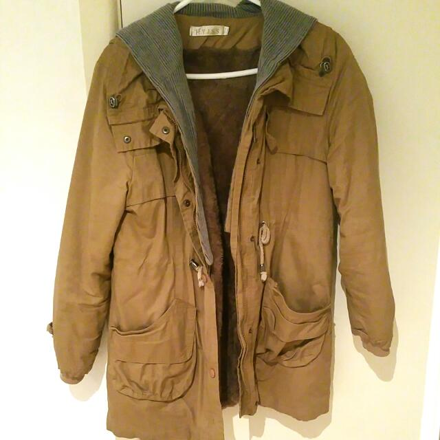 Khaki Coat