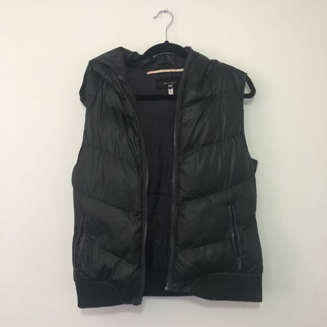 Ladies  Black Gillet Bodywarmer