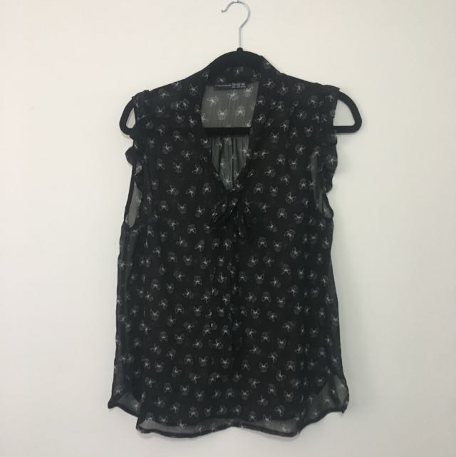 Ladies Sleveless Blouse Shirt