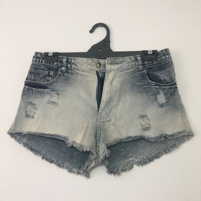Ladies Supre Denim Shorts Size Large