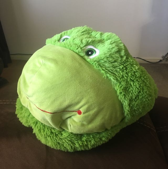 Large Green Frog Double Slipper