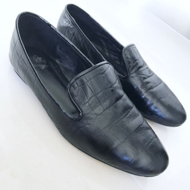 Leather Florsheim Loafers Size 38
