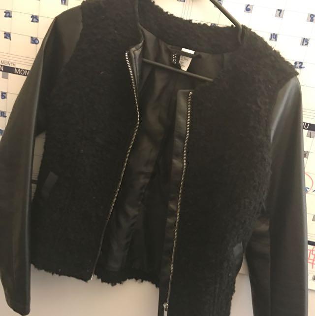 Leather Jacket HnM