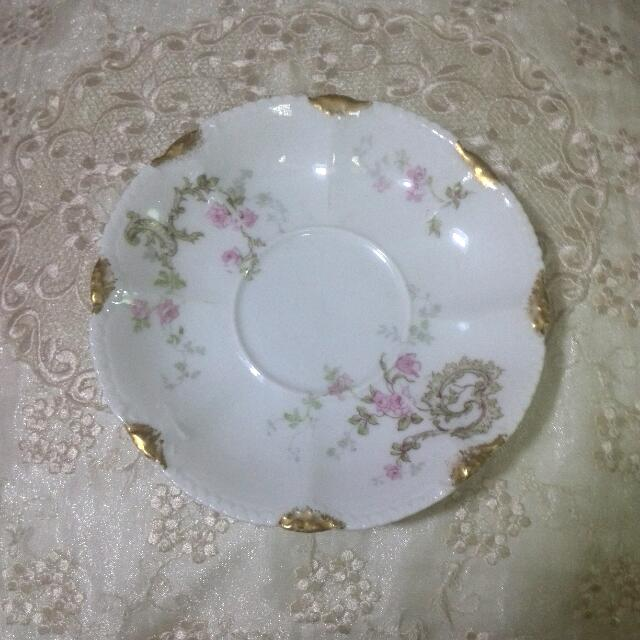 LIMOGES THEODORE HAVILAND SAUCER
