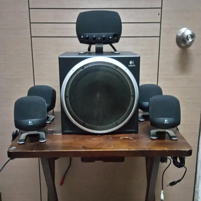 Logitech Z640 5.1 Channel Speaker