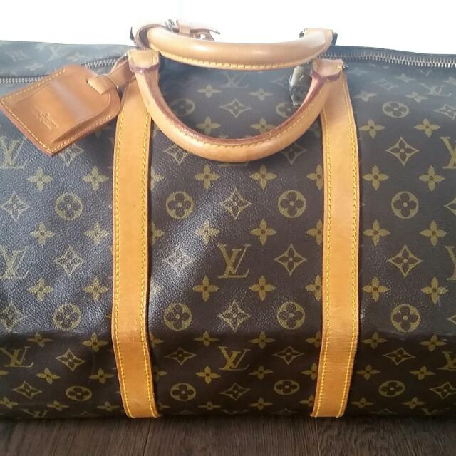 Louis Vuitton Keepall 60 Boston Bag