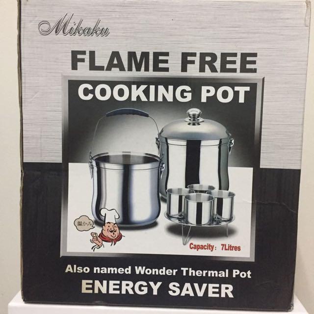 🆕 Mikaku Flame Free Cooking Pot