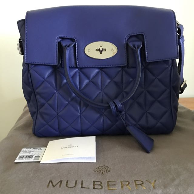 Mulberry Cara Delevingne Bag Quilted Nappa, Luxury, Bags   Wallets ... 96b771daa0