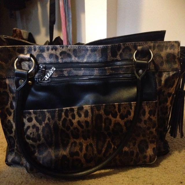 New Leopard Print Bag
