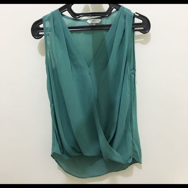 New Look Sleeveless Shirt