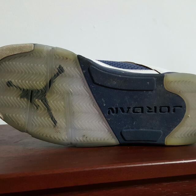 NIKE 喬丹5代鞋,6成新,男款,低筒, US 9.5號