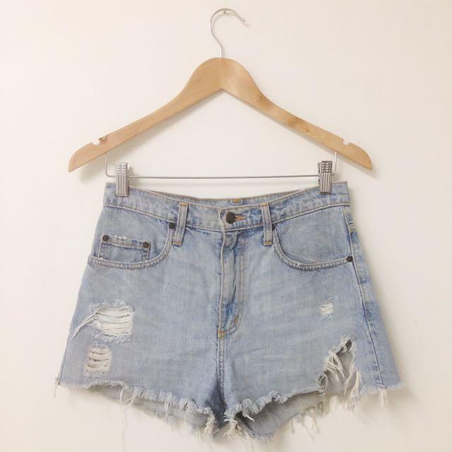 Nobody Denim Highwaist Shorts Size 26