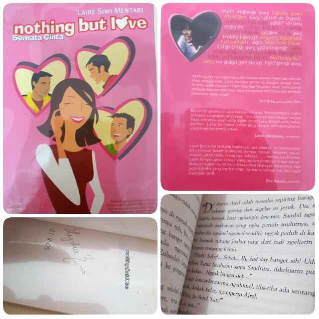 Nothing but Love (Semata Cinta) by Laire Siwi Mentari