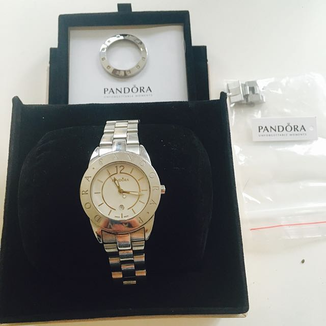 Pandora Watch with additional Crystal Bezel