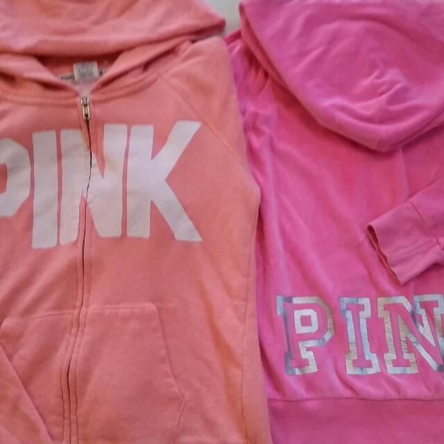 PINK Jackets: XSmall