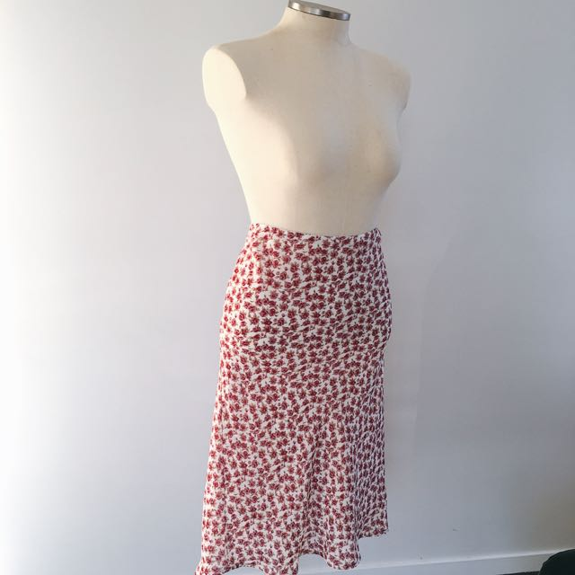 PINK ROSE SUMMER SKIRT