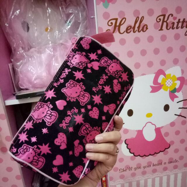 Pounch Hello Kitty Black Pink