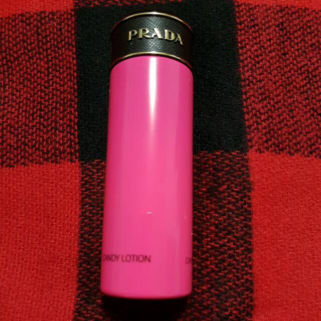 Prada Candy Lotion 2.5 FL Oz Bottle Approx. 85% Full