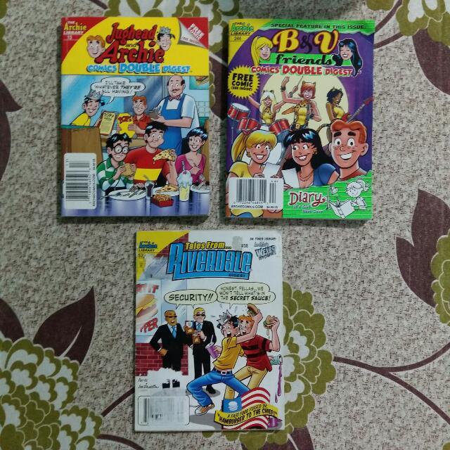 PRELOVED ARCHIE COMICS