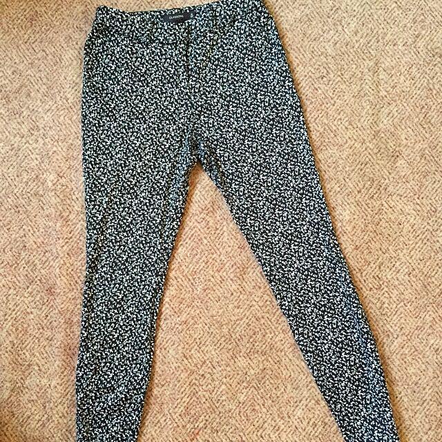 Printed Work Pants