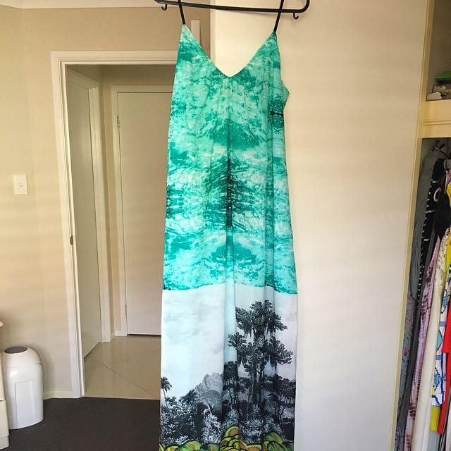 Sheike Tropical Maxi Dress Size 6