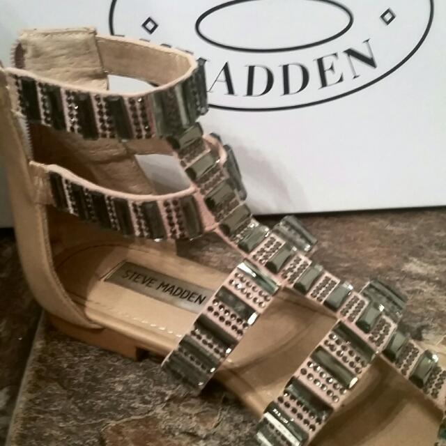 Steve Madden BLING Sandals-NEW 6.5
