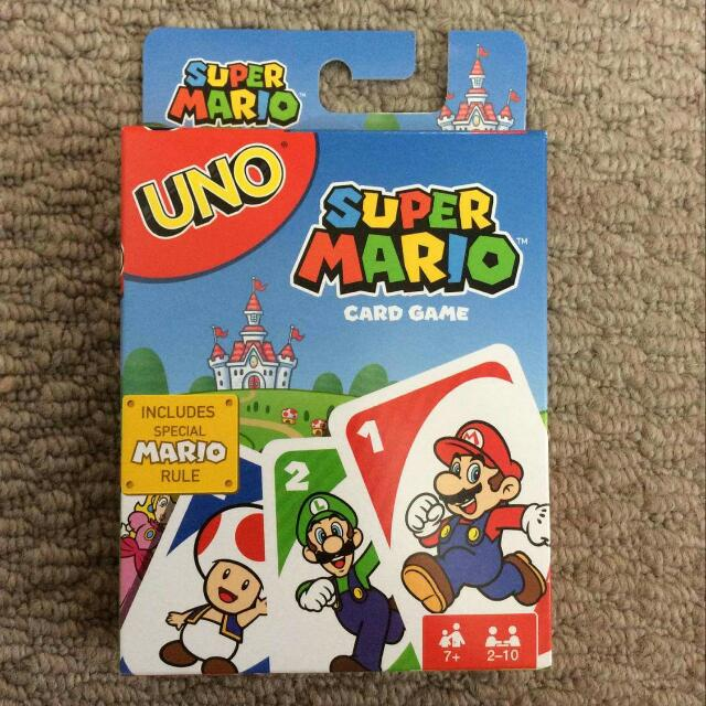 Super Mario Uno Card Game BRAND NEW