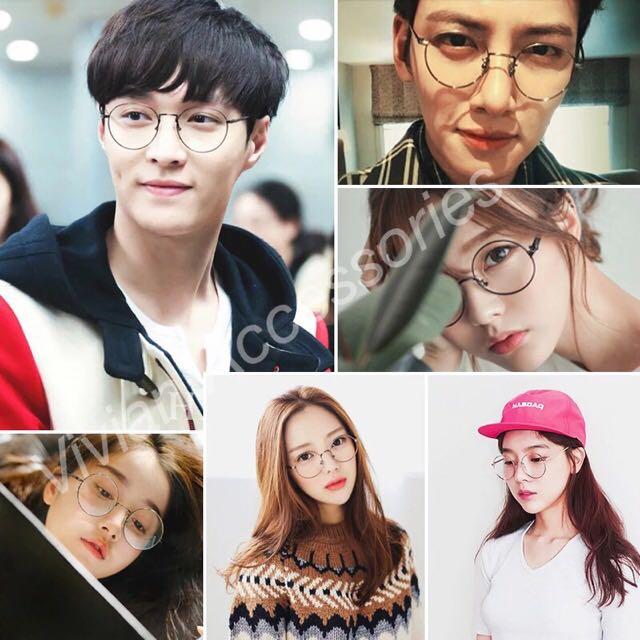 de6db54f91 NEW Ulzzang Round Oversized Specs Trendy Korean Vintage Circle ...