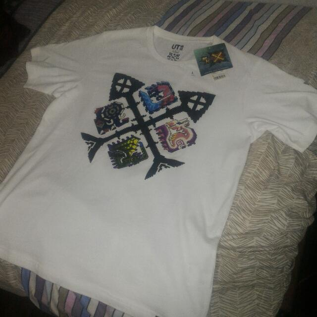 Uniqlo MONSTER HUNTER Shirt