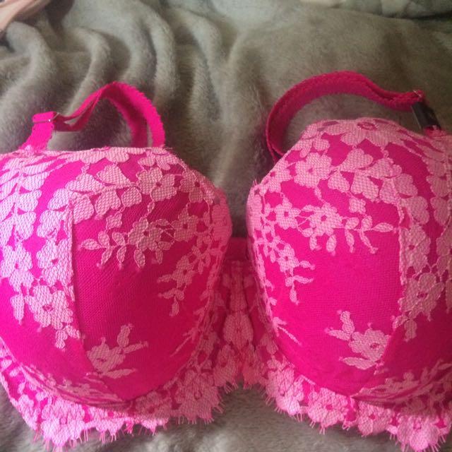 Victorias Secret Hot Pink Bra