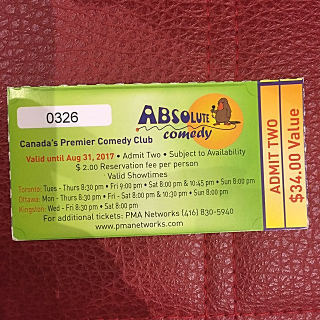 Want To Laugh A Lot Grab Ticket To Absolute Comedy