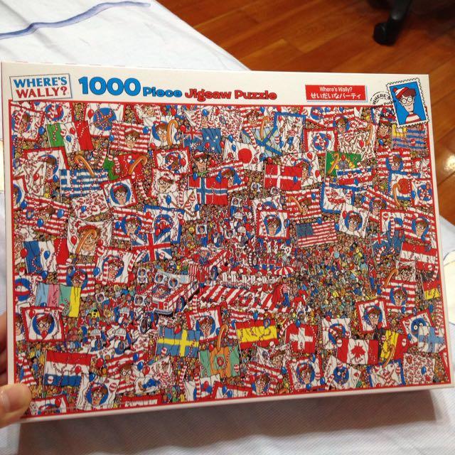 Where's Wally威利1000片拼圖