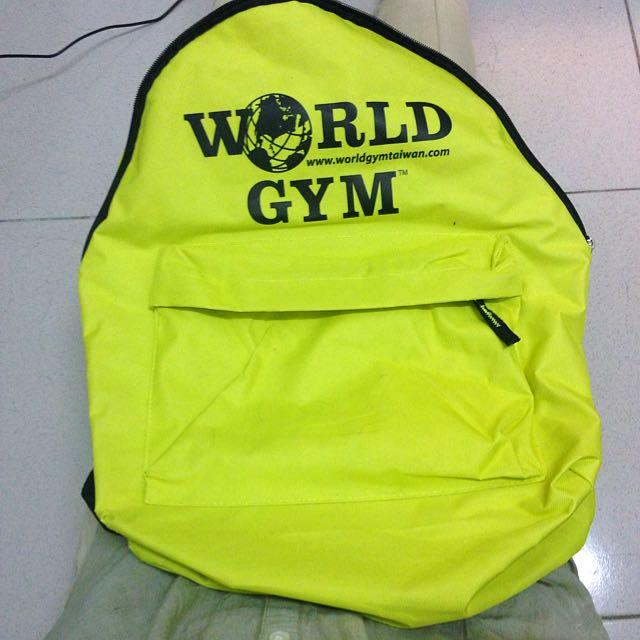 World Gym後背包