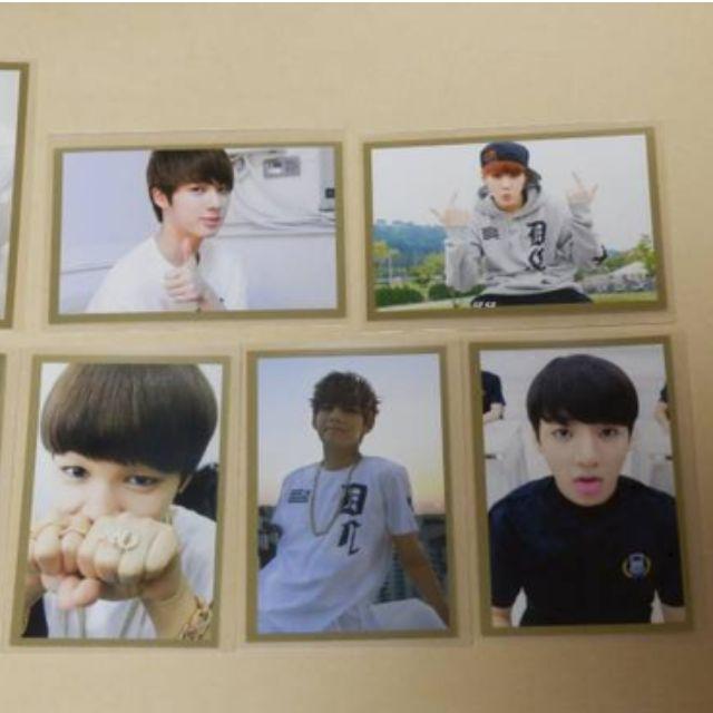 FOUND ] BTS 2014 DIARY PHOTOCARDS (SUGA, JUNGKOOK, V, JIMIN