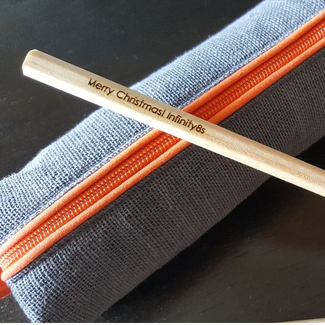 Xmas Gift Personalized Pencils