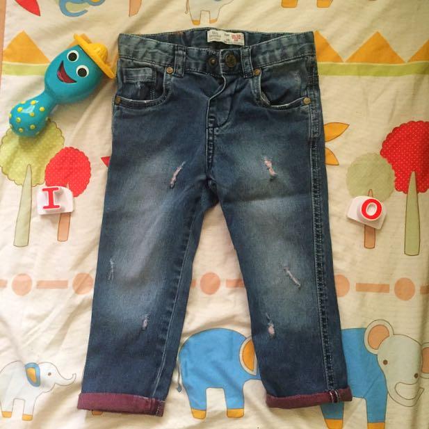 Zara Baby Boy Distress Pants