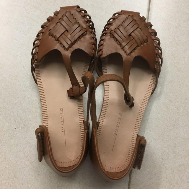 Zara Girls' Sandals, Babies \u0026 Kids