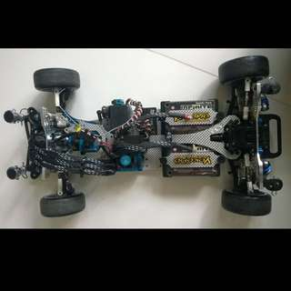 Wrap Up Next FRD V1 (Fully RWD Chassis)