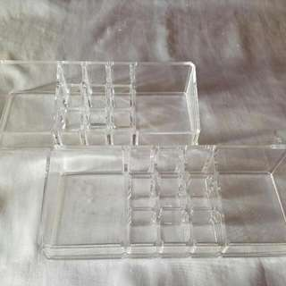 Two Makeup Organizer Trays (Each Or As Set)