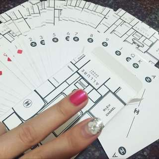CHANEL POKER CARDS
