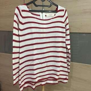 Zara Knit Stripes Sweater