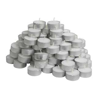 Ikea Unscented tealight candles