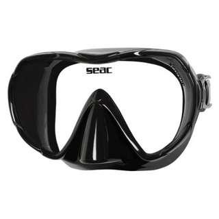 Seac X-Frame Evo Mask (Black)