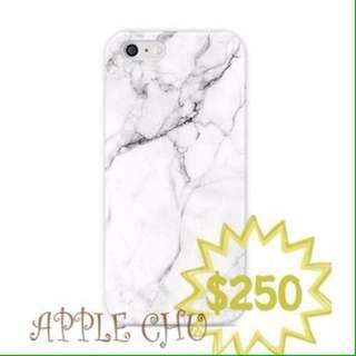大理石iphone全包磨砂手機殼