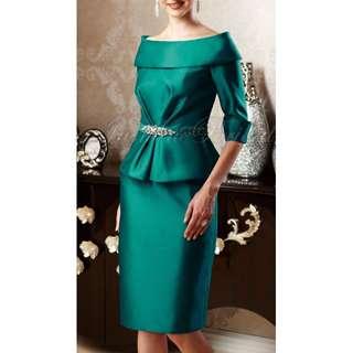 Jade Couture Off Shoulder Top & Skirt - Size 6* - 70% Off!!