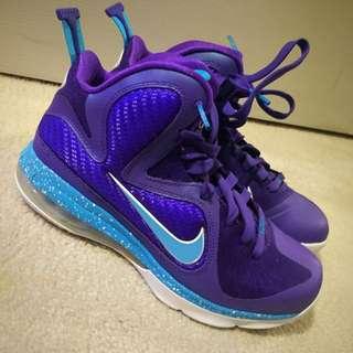 Nike LeBron IX - Hornets - Sz 6Y