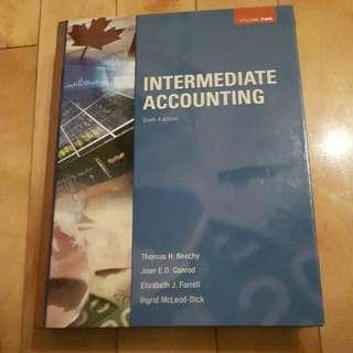 Intermediate Accounting Volume Two