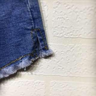 降價✨深藍牛仔短褲