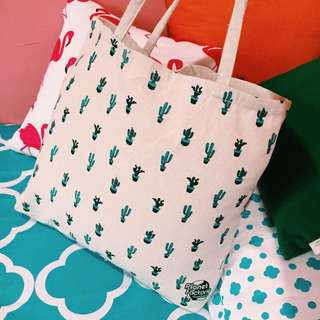 CACTUS TOTE BAG by FACTORIE MALAYSIA