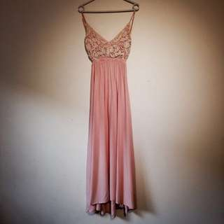 Morning mist maxi Dress